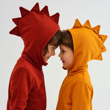Charger l'image dans la galerie, Kukukid Red Dino Cotton Hoodie