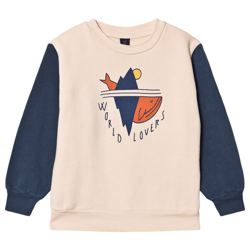 Bonmot Organic World Lovers Sweatshirt Navy