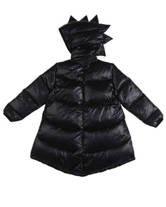 Kukukid Dino Goose Down Padding Jacket – Black