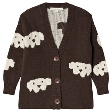 画像をギャラリービューアに読み込む, Weekend House Kids Herbert Alpaca Baby Wool Brown Herbert Alpaca cardigan by Weekend House Kids Cardigan