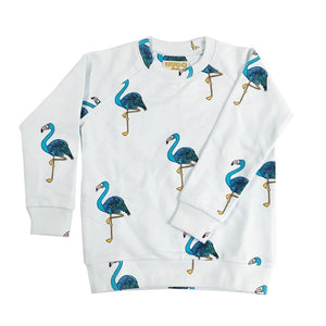 HUGO LOVES TIKI FLAMINGO SWEATSHIRT