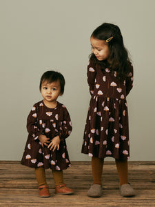 Mainio Plum Baby Dress