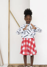 Load image into Gallery viewer, Beau Loves Jersey Skirt Gingham
