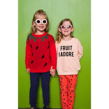 Load image into Gallery viewer, Gardner and The Gang Fruit I Adore Sweatshirt - Hot Pink
