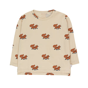 "Tiny Cottons ""FOXES"" TEE"