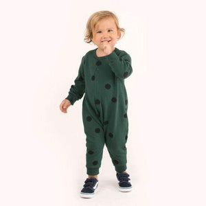"Tiny Cottons ""BIG DOTS"" ONE-PIECE"