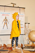 Load image into Gallery viewer, Kukukid Dino Raincoat -Yellow