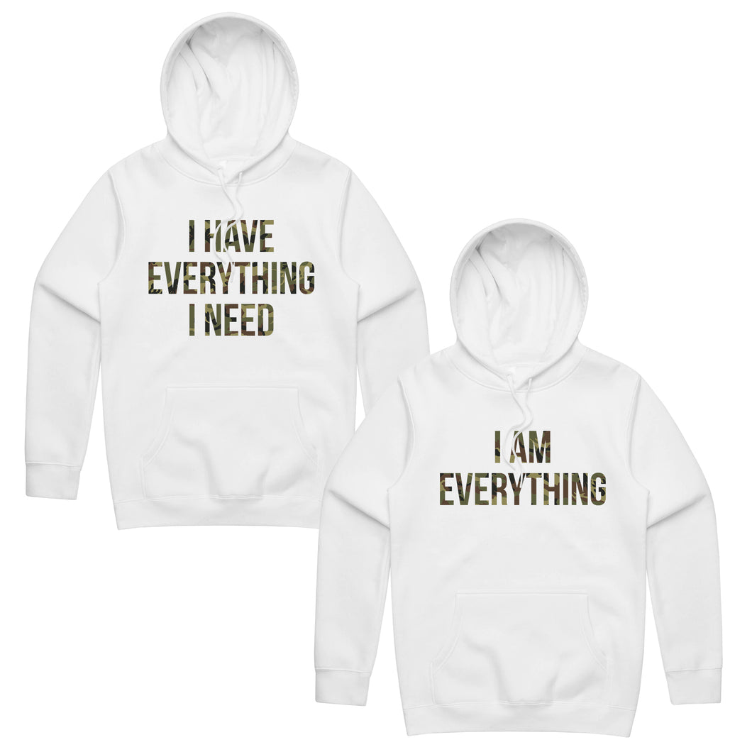 I Have Everything I Need I Am Everything Hoodies, Couple Hoodies, Couple Sweatshirts, Matching Sweaters, Hubby Wifey Shirts, Best Gift