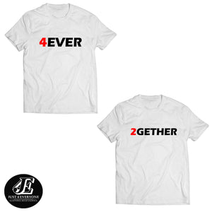 Forever Together Shirts, Couple Shirts, Matching Shirts, Couples shirts, Anniversary Shirts, Honeymoon Shirts, Together Since Shirts, Unisex