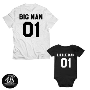 Big Man Little Man, Father Son Matching Shirts, Dad And Baby Matching Shirt, Father And Son Shirts, Family Shirts, Father's Day Gift