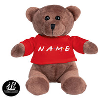 Load image into Gallery viewer, Personalized My 1st Teddy Bear, Personalized Name, Custom Name, Plush Teddy Bear 5 Inches