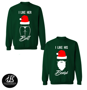 Christmas Couple Sweaters, Couples Winter Sweatshirts, Merry Christmas Pullover, Matching Couple Christmas Shirts, Christmas Jumper, Unisex