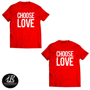 Choose Love Shirts, Couples Shirts, Matching Tees, Wedding Gift, Honeymoon Shirts, Anniversary Shirts, Engagement Shirts, Funny Couples Tees