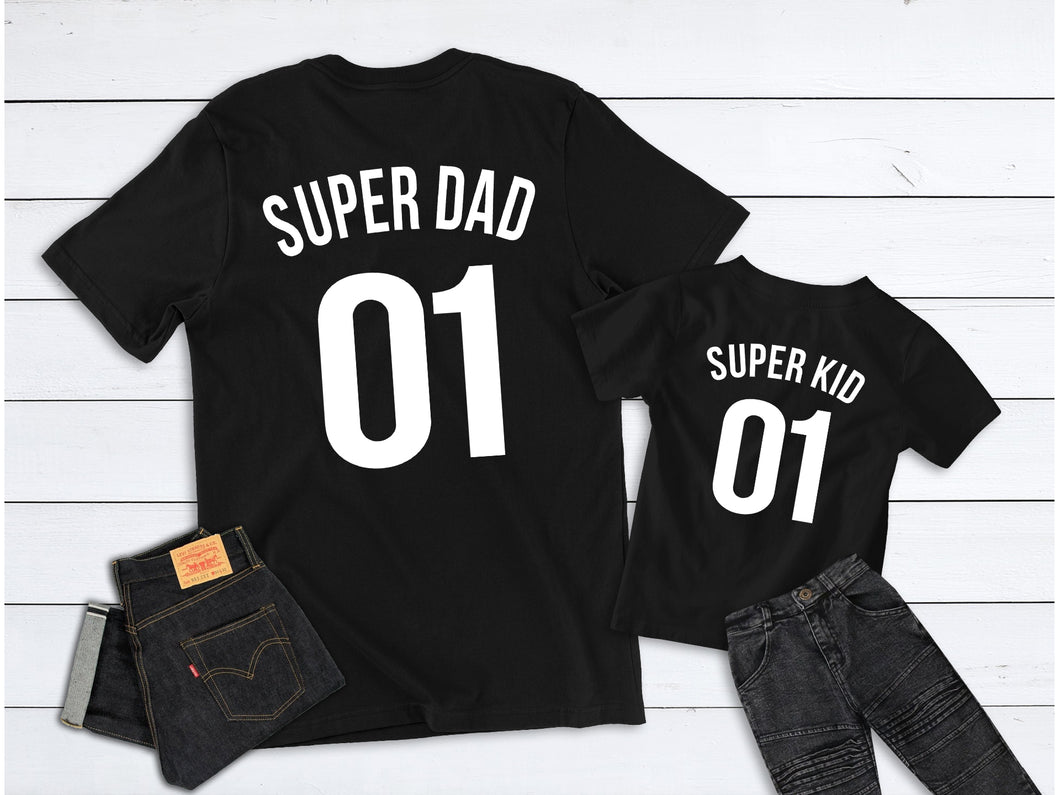 Father's Day Gift, Super Dad Super Kid, Father Son Matching Shirts, Dad Gift, , Father's Day, Father's Day Shirt, Family Shirts, Dad Gift
