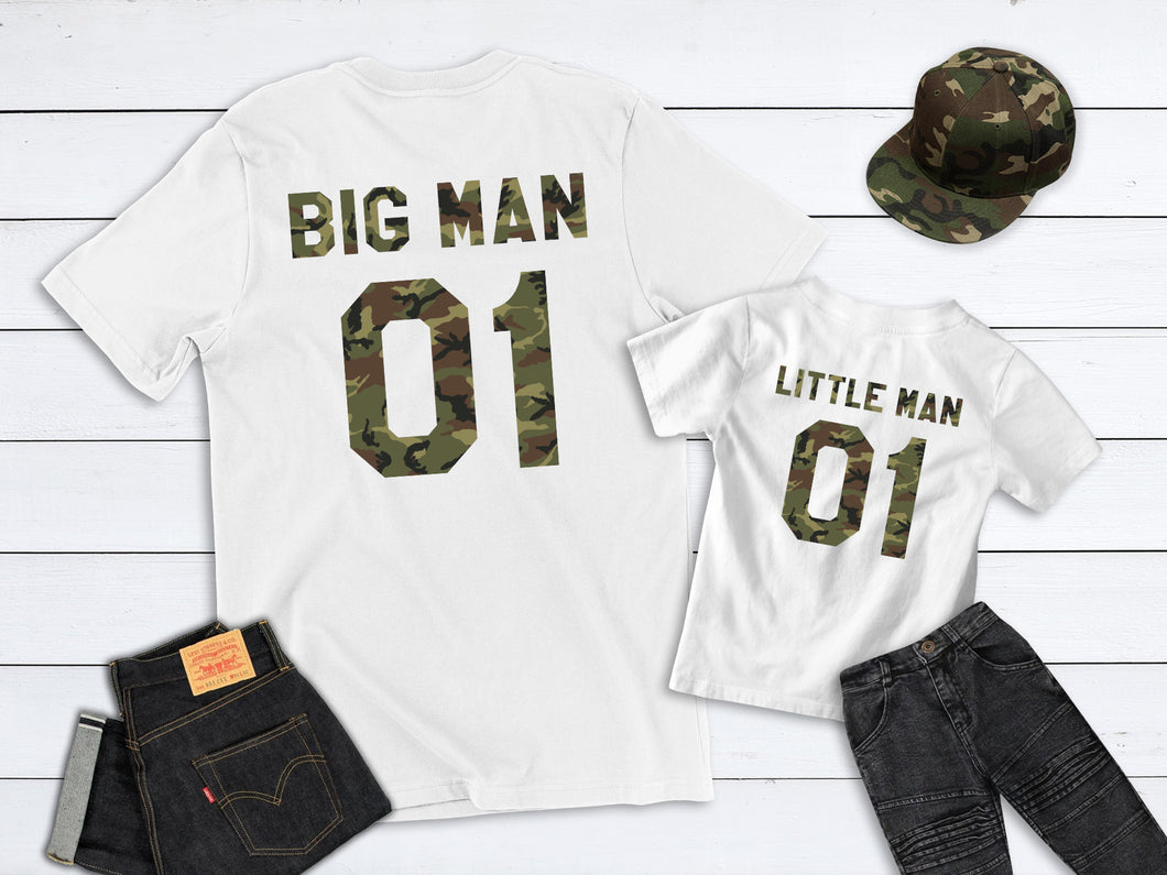 Father and Son Matching Shirts, Big Man Little Man shirts, Daddy and Baby T-shirts, Daddy and Son, Father Baby Pyjamas, New Dad, Fathers Day