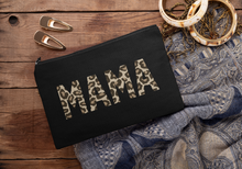 Load image into Gallery viewer, Mama Leopard, New Mum Gift, Makeup Bag, Cosmetic Bag, Leopard Print Makeup Bag, Mothers Day, Personalised Bags and Purses, Mother's Day Gift
