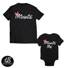 Load image into Gallery viewer, Minnie and Minnie Me Mommy Baby Shirts, Mommy And Me Shirts, Mother Daughter Matching, Minnie shirt