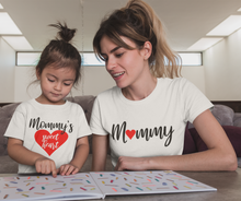 Load image into Gallery viewer, Mommy And Me Shirt, Matching Shirts, Mom And Daughter, Mothers Day Gift, Mommy And Me, Mom Life