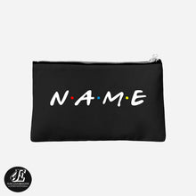 Load image into Gallery viewer, Personalized Makeup Bag, Friends TV Show Bag, Customized Friends Bag, Personalized Make Up Bag