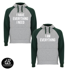 I Have Everything I Need I Am Everything Hoodies, Couple Hoodies, Matching Sweaters, Pärchen Pullover, Couple Sweatshirts, Valentine's Day