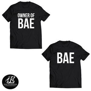 Couples Shirts, Funny Couple Shirts, Couple Shirt, Bae And Owner Of Bae Shirt, Couple Shirts