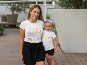 Mama And Little Mama Shirts, Mommy And Me Shirts, Mommy And Me Matching Shirts, Mother Daughter Shirts, Mama And Me Outfit, New Mommy Gift