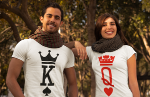 King and Queen Shirts, King Queen Shirts, Couple Shirts, Matching Shirts, Couples Shirts, King Queen Couples Shirts, King And Queen, Unisex