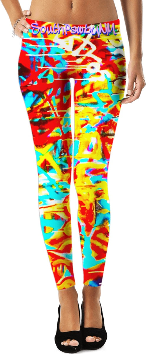 Houston Astros World Series Graffiti Leggings