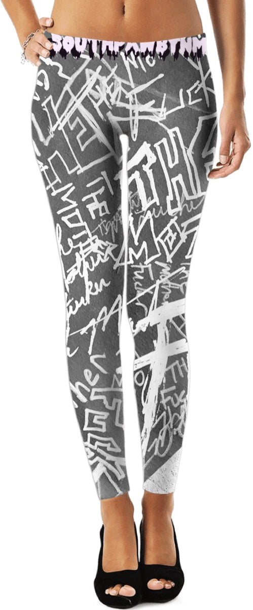 "SouthPawbyNM ~ ""The Mother Fucker"" (leggings-inverted)"