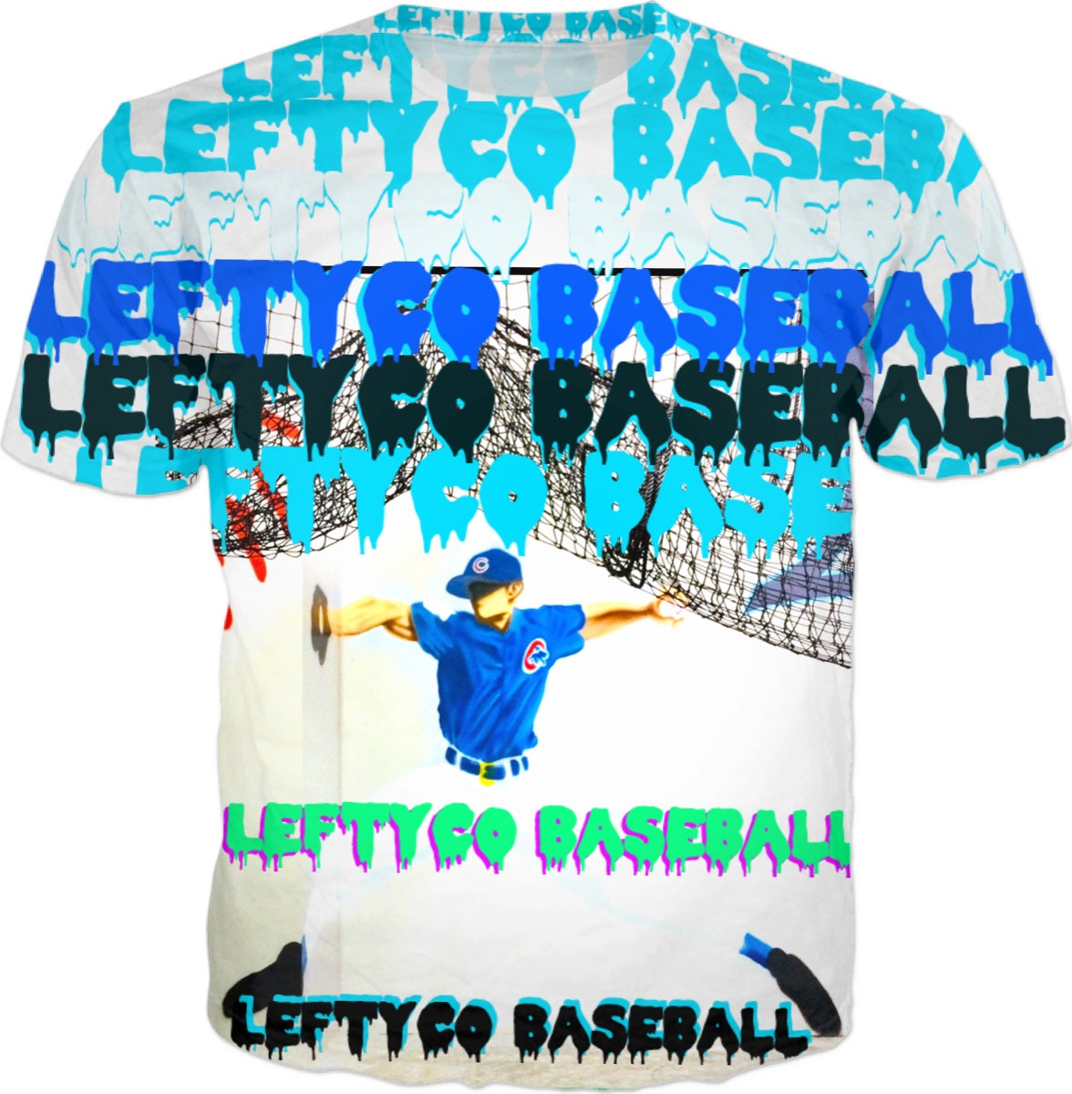 LeftyCo - Comic Book CUBBIE ~ @leftyco t-shirt - leftyco
