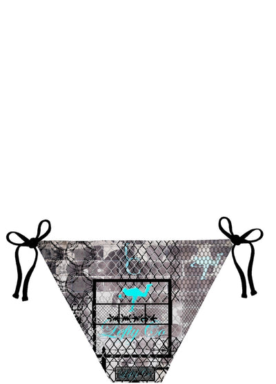 "LeftyCo ~ ""keep out"" BIKINI"