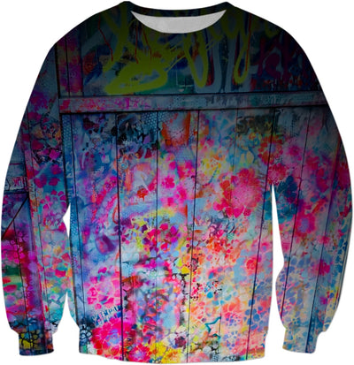 "LeftyCo ~ ""Quarantine Flower Child"" Sweatshirt - leftyco"
