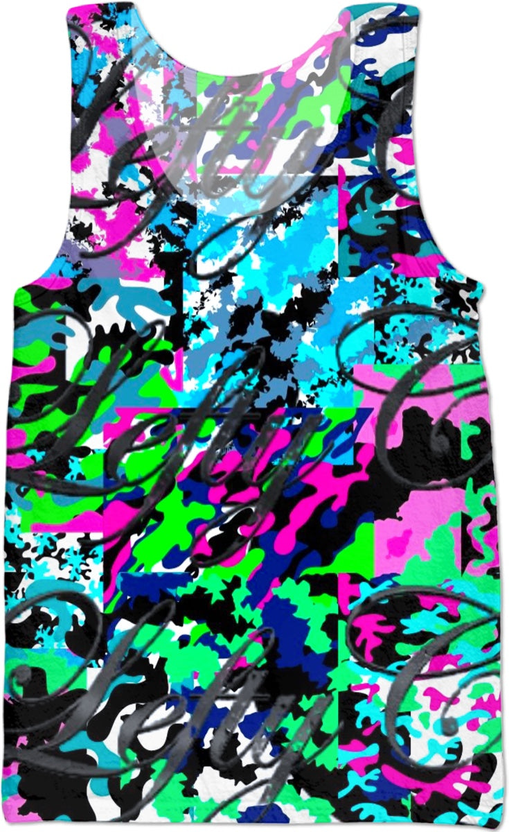 LeftyCo ~ 813 CALI CAMO tank top - leftyco