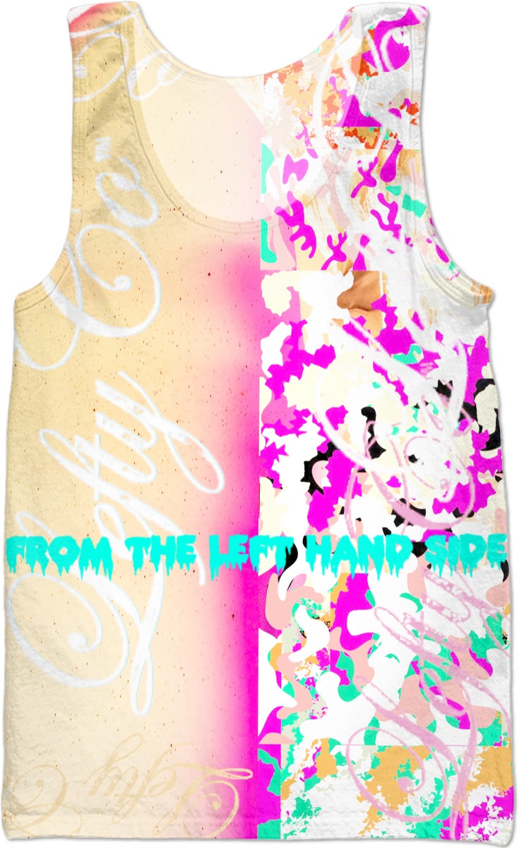 LeftyCo ~ 814 SUNKISS'D CAMO tank top - leftyco