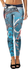 LeftyCo - BOSSBOY COLLECTION 817 leggings - leftyco