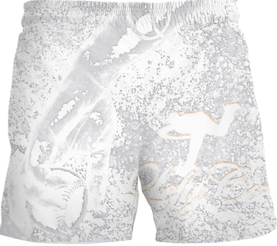 LeftyCo ~ 820 SNOW CAMO CHED SLINGERS boardshorts