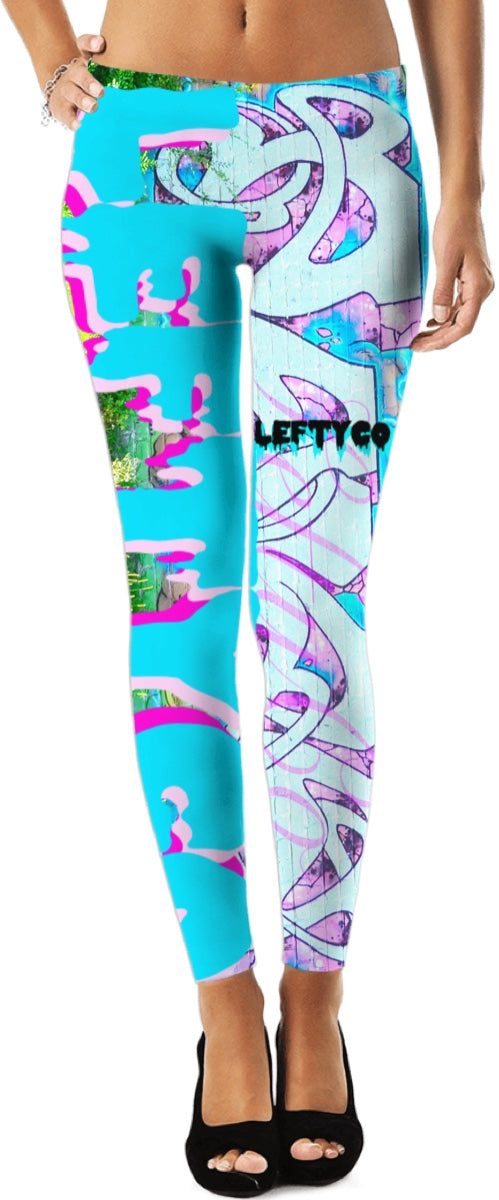 "LEFTYCO ~ ""BiPolars"" leggings - leftyco"