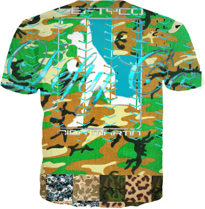 "LeftyCo ~ ""RETRO CAMO"" t-shirt - leftyco"