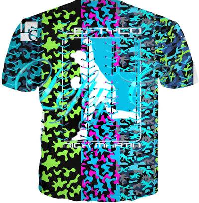 LeftyCo ~ 904 CAMO POWERADE t-shirt - leftyco