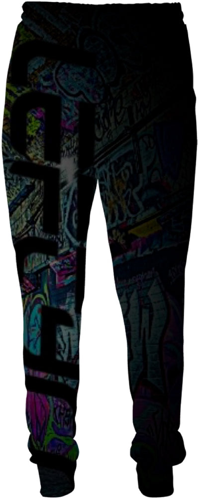 LEFTYCO ~ STOLEN BASE SUBWAY jogger sweatpants