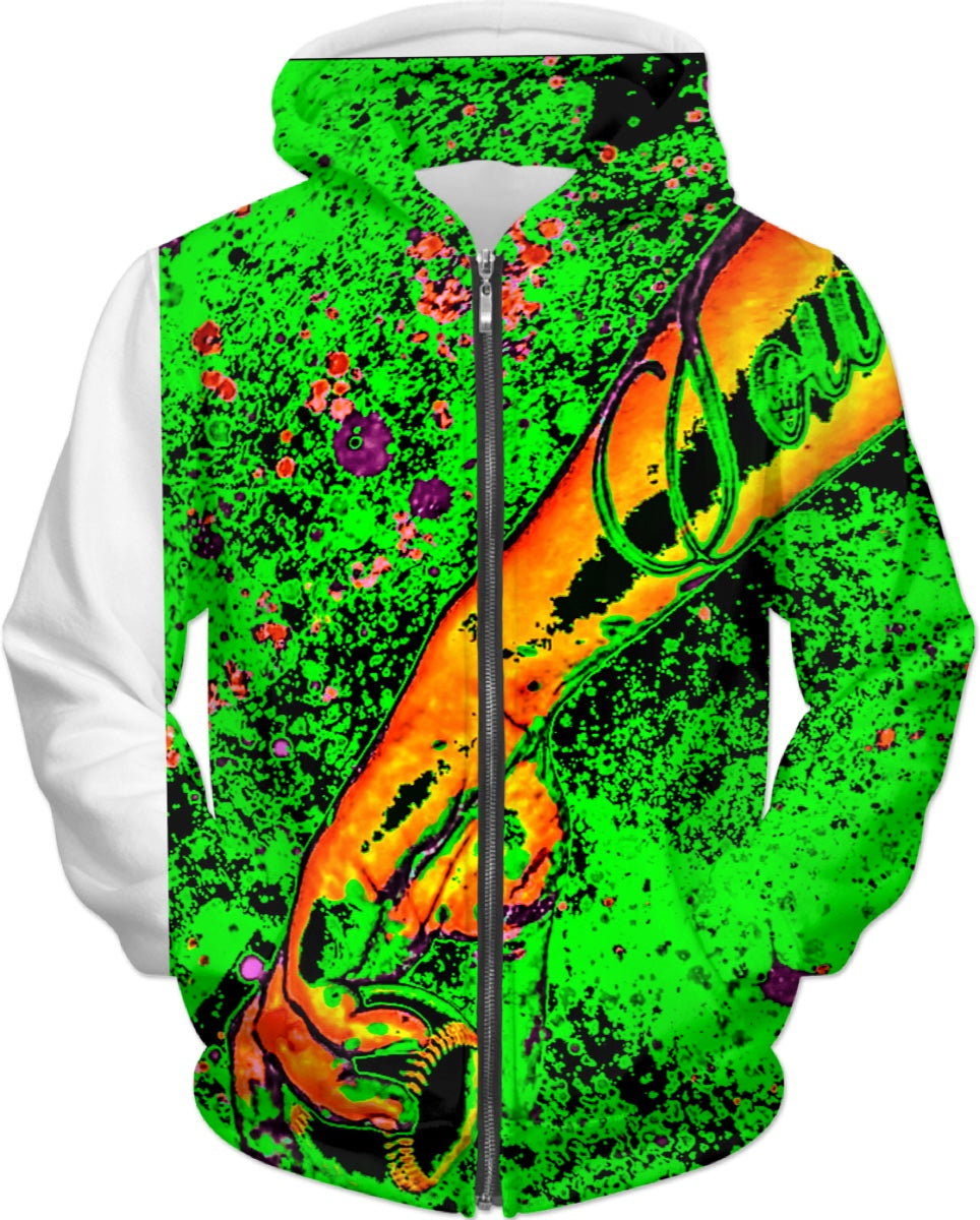 LEFTYCO ~ SOUR APPLE DROP hoody
