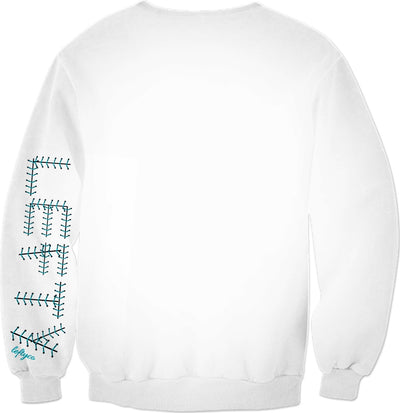 LEFTYCO ~ WHITEBOARD sweatshirt