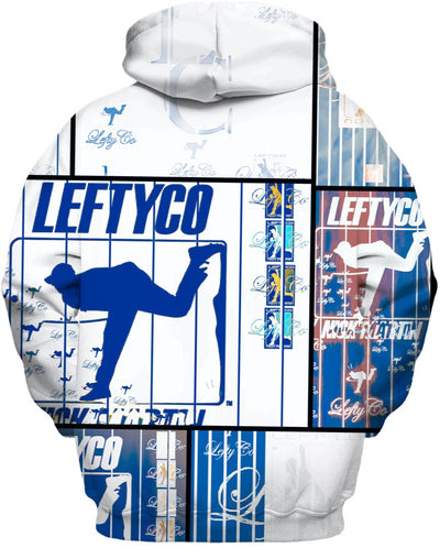 LEFTYCO ~ Royal Striped hoody