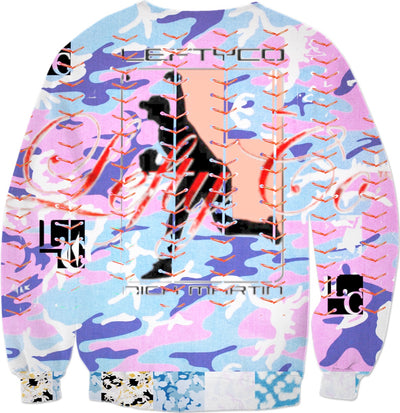 LEFTYCO ~ Very Berry Camo sweatshirt