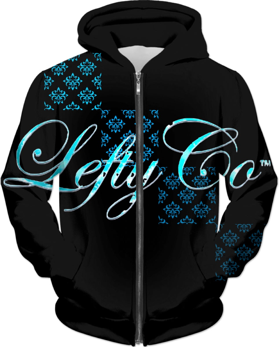 LEFTYCO ~ Black Magic hooded sweatshirt