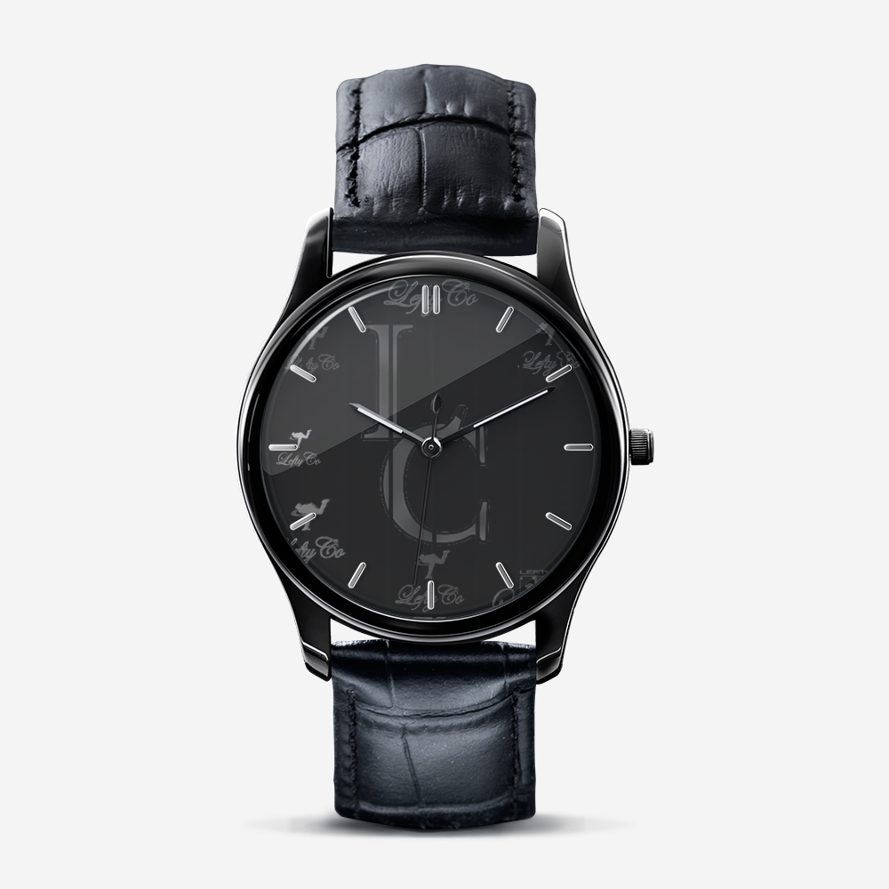 "LeftyCo - ""804"" Print Black Quartz Watch - leftyco"