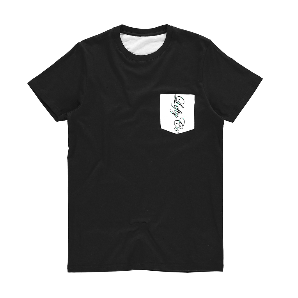 LEFTYCO - O.G. SCRIPT Pocket T-Shirt