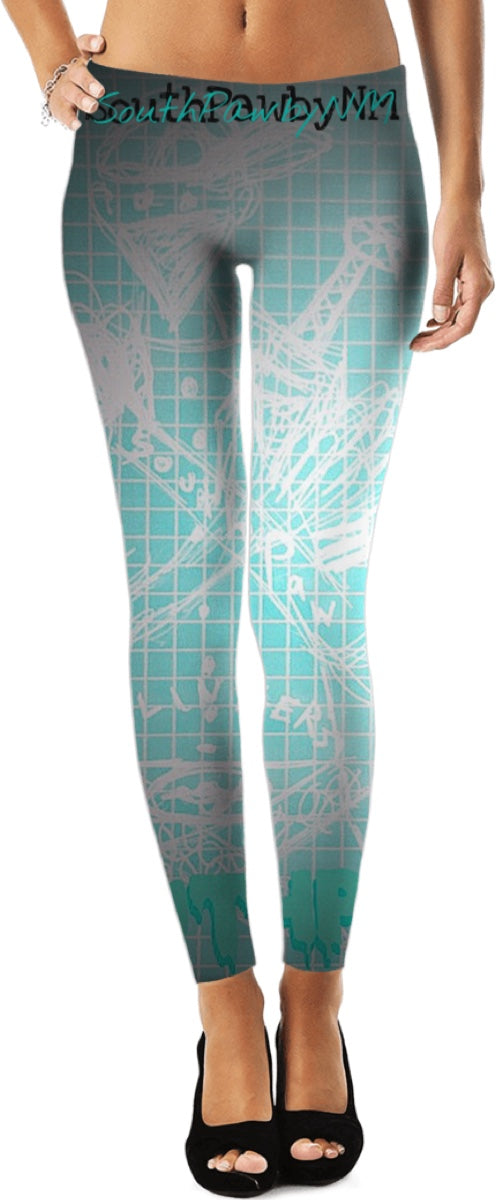 "LEFTYCO ~ ""SouthPaw Slingers"" leggings"