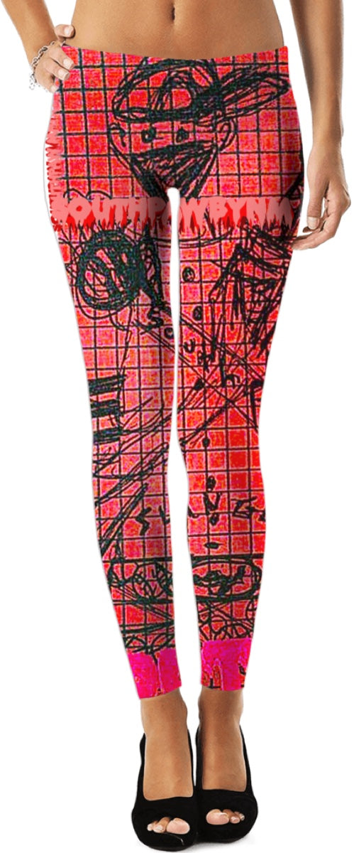 "LeftyCo ~ ""Sling'n SOUTHPAW"" leggings"