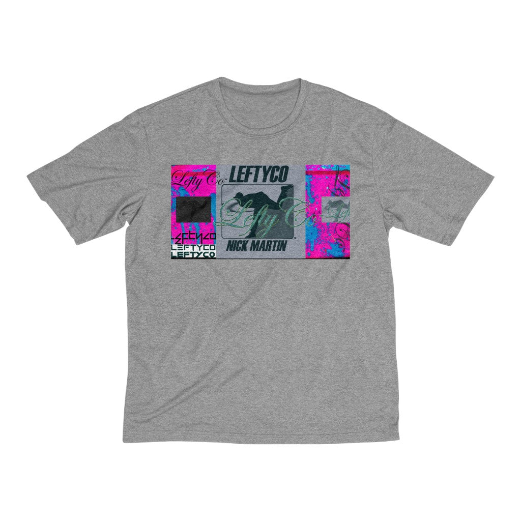 LeftyCo - Men's 725 Heather Dri-Fit T-Shirt - leftyco